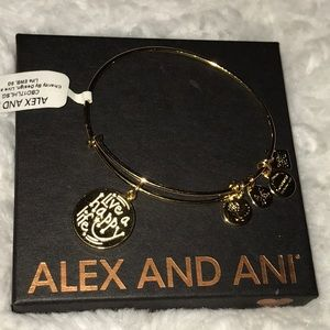 Alex & Ani Bracelet.. Live a Happy Life Bangle